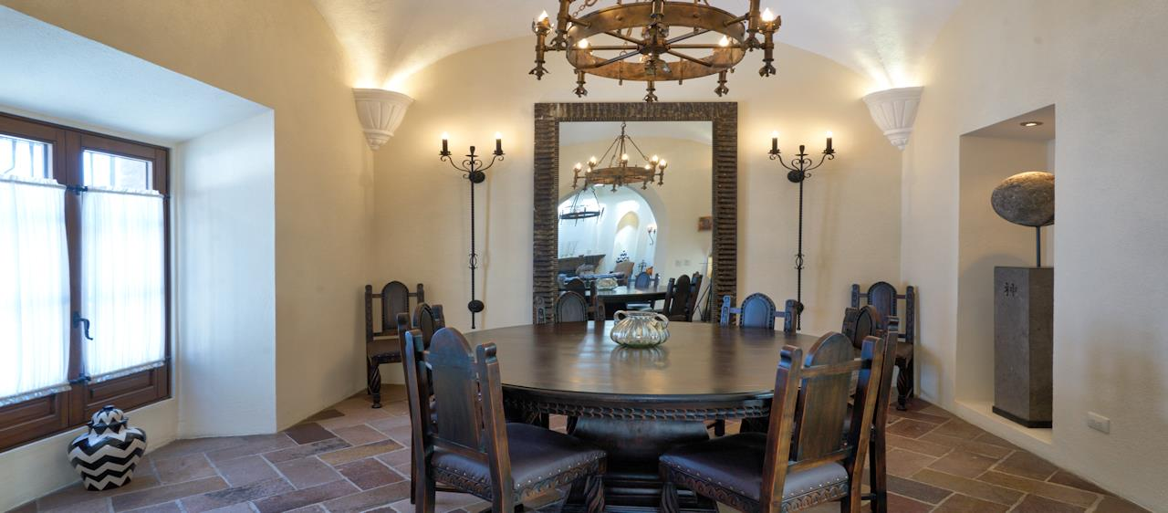 San Miguel de Allende Real Estate Property - Dining room & Mirror slide