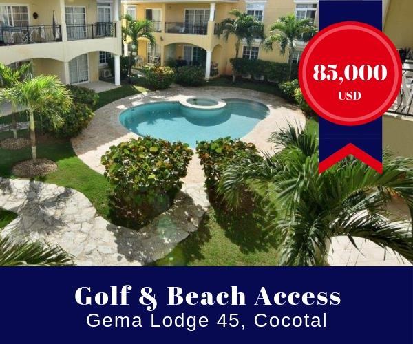 Punta Cana Gema Lodge condo for sale