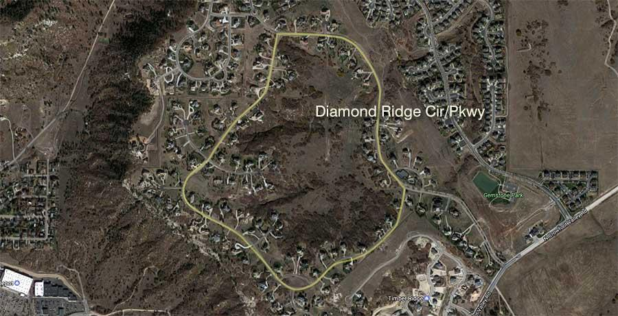 Diamond Ridge Estates Map