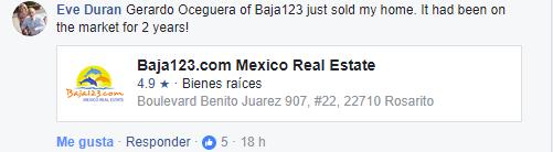 Gerardo Oceguera Testimonials Facebook