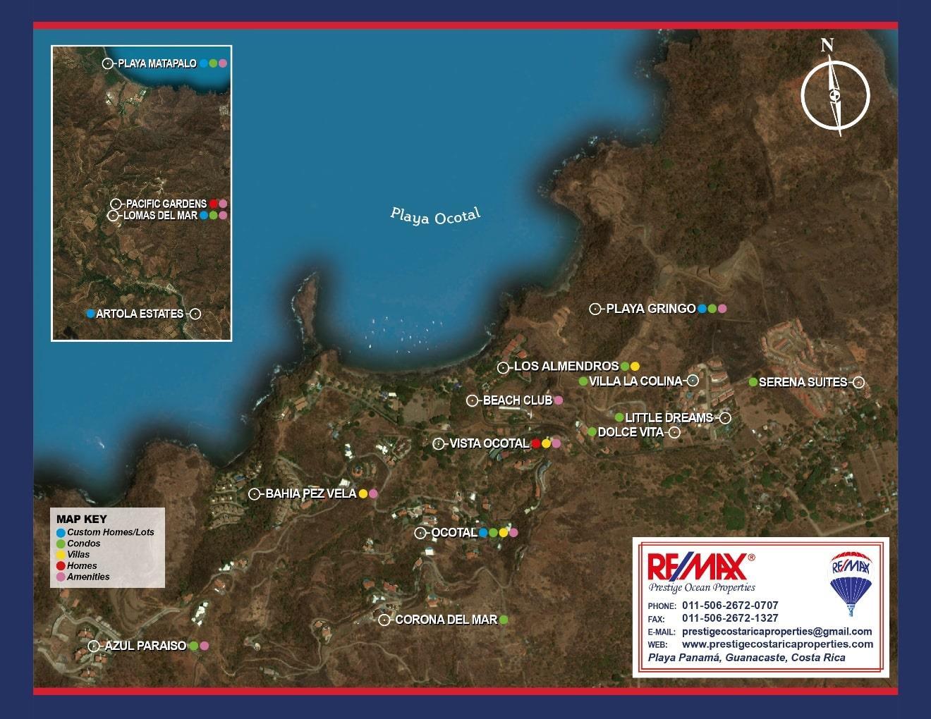 Playa Ocotal Exclusive Developments