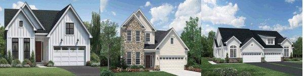 Regency at South Whitehall 55+ Active Adult Community Homes