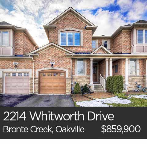 2214 whitworth drive bronte creek oakville homes