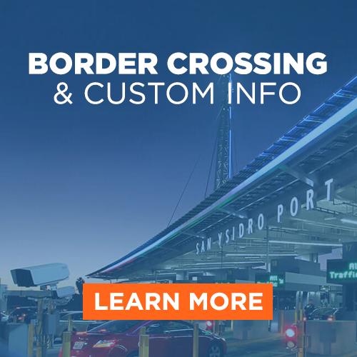 Border Crossing & Custom Info