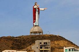 Baja Jesus Statue