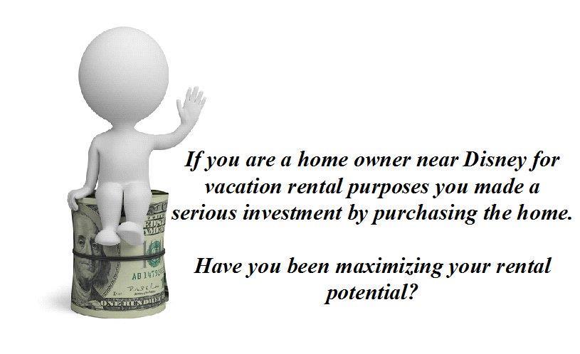 vacation rental potential at Mickey Homes