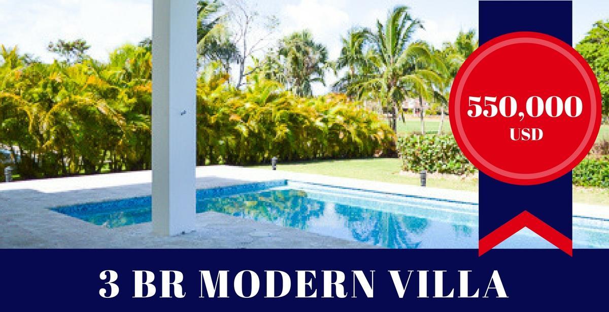 Beautiful Golf & Beach Resort Villa