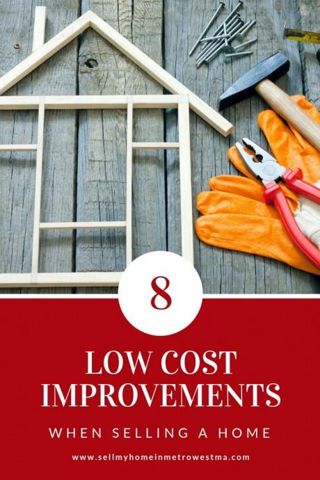 Low Cost Home Improvements For Selling a Home