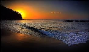 Sunset at Bahia Pez Vela, Costa Rica