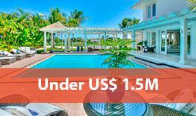 punta cana resort properties under 1.5M