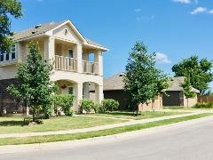 Another view of the Stonewood Commons neighborhood in Buda, TX 78610