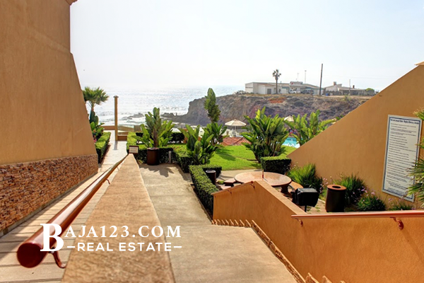 LA JOLLA REAL BEACH ACCESS  ROSARITO BEACH