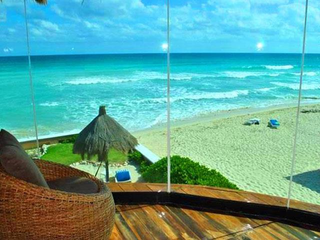 Beachfront home Coastal Homes Riviera Maya Real Estate