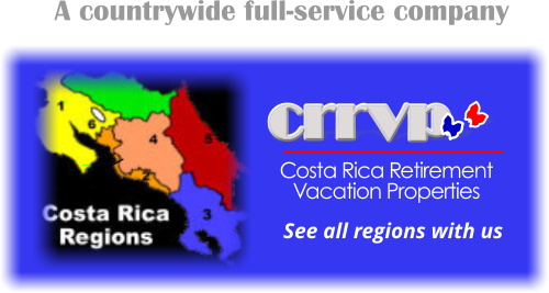Costa Rica Homes for Sale all regions