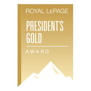 President's Gold Award for Sales in 2017