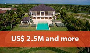 punta cana resort properties 2.5M and more
