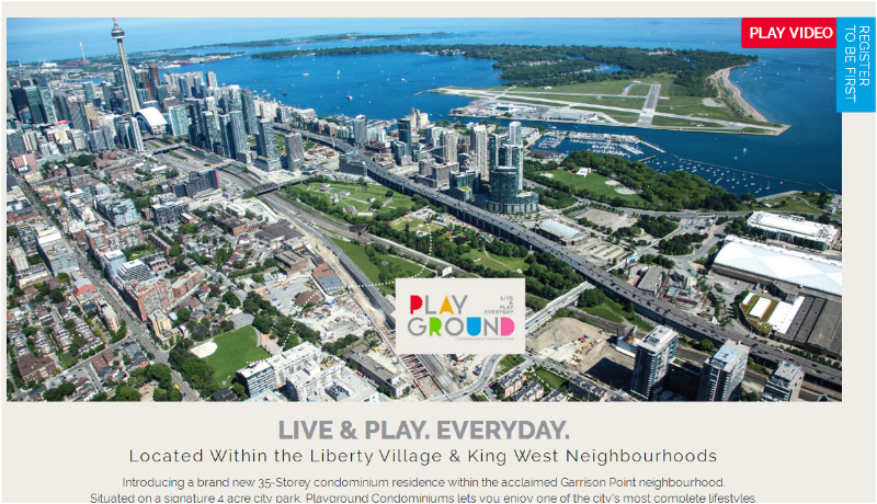 Playground condos for sale
