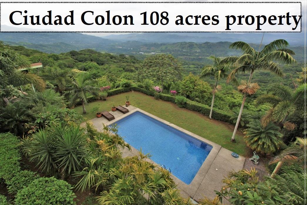 Mountain property Ciudad Colon