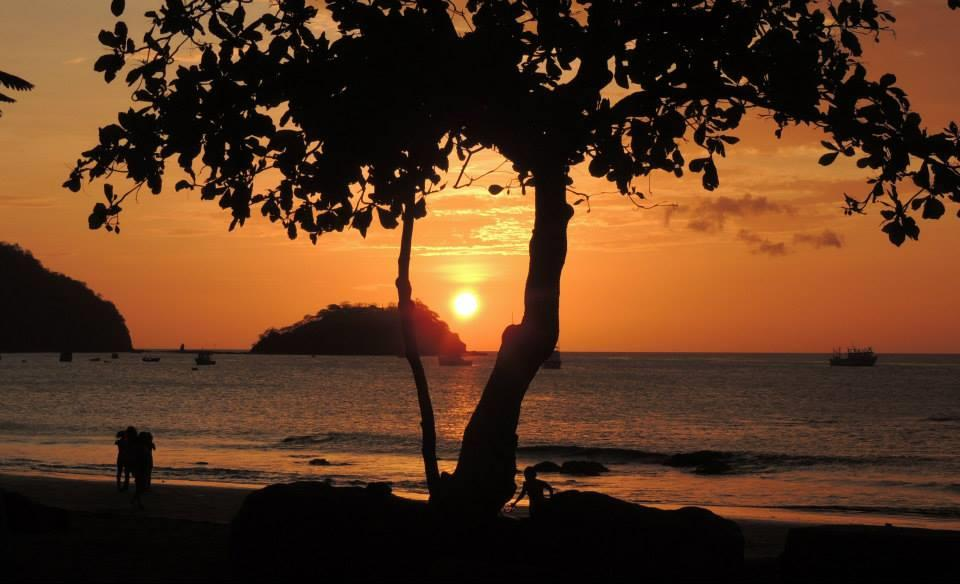 Sunset at Playas del Coco, Costa Rica