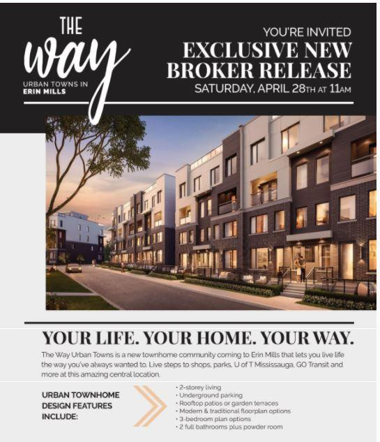 Mississauga Erin Mills town houses