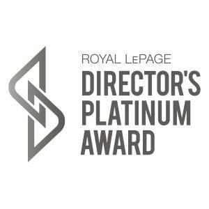 Royal LePage Director's Platinum Award - Top 5%