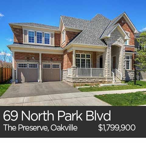 69 north park blvd preserve oakville homes for sale