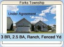 Forks Township Ranch Home is Under Agreement