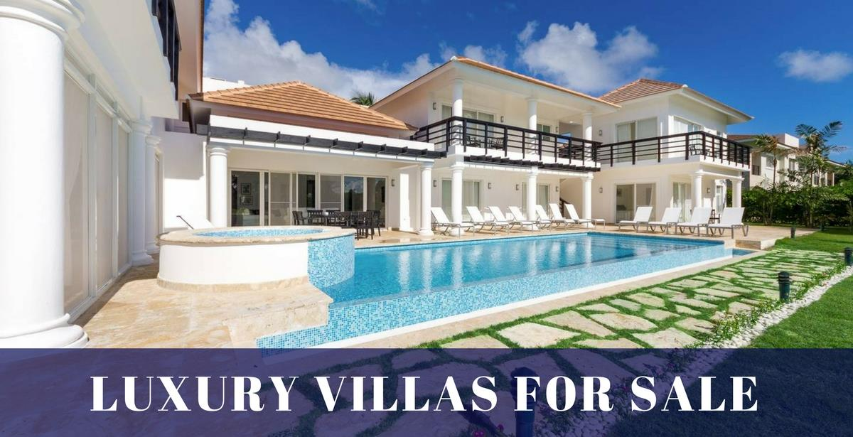 Luxury Villas For Sale in Punta Cana, Dominican Republic