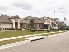 Model home park in Crosswinds 78640