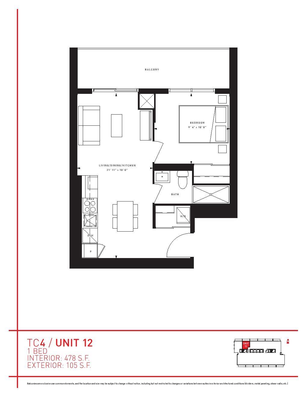 Transit City 4 Condos Floor Plans