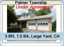Palmer Township Home Under Agreement