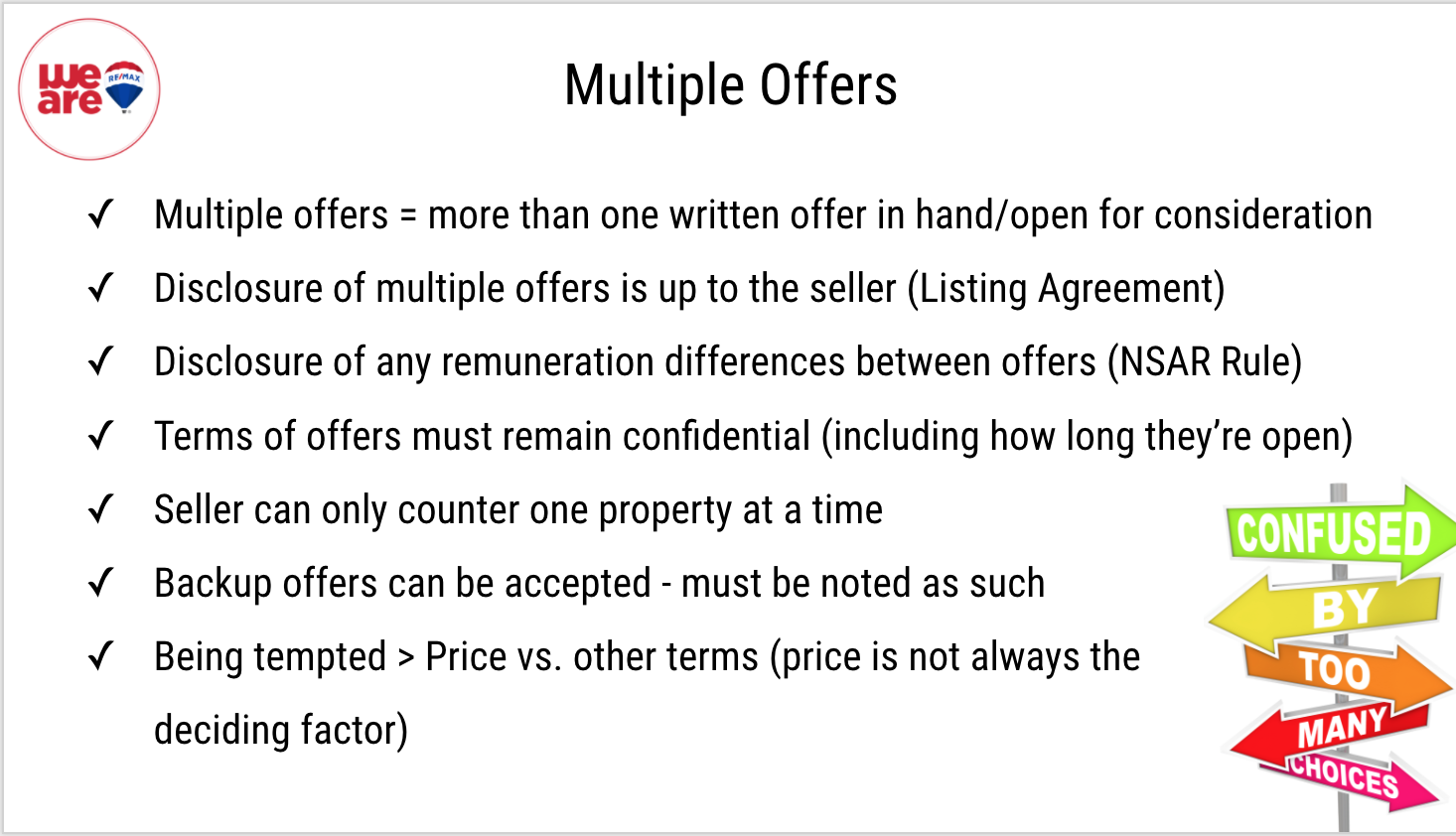 What You As A Home Seller and or Home Buyer Need To Know About Competing Offers