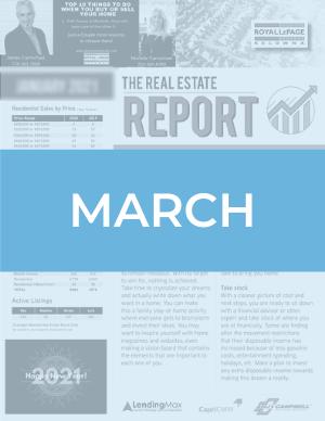 March 2021 Okanagan Real Estate Report