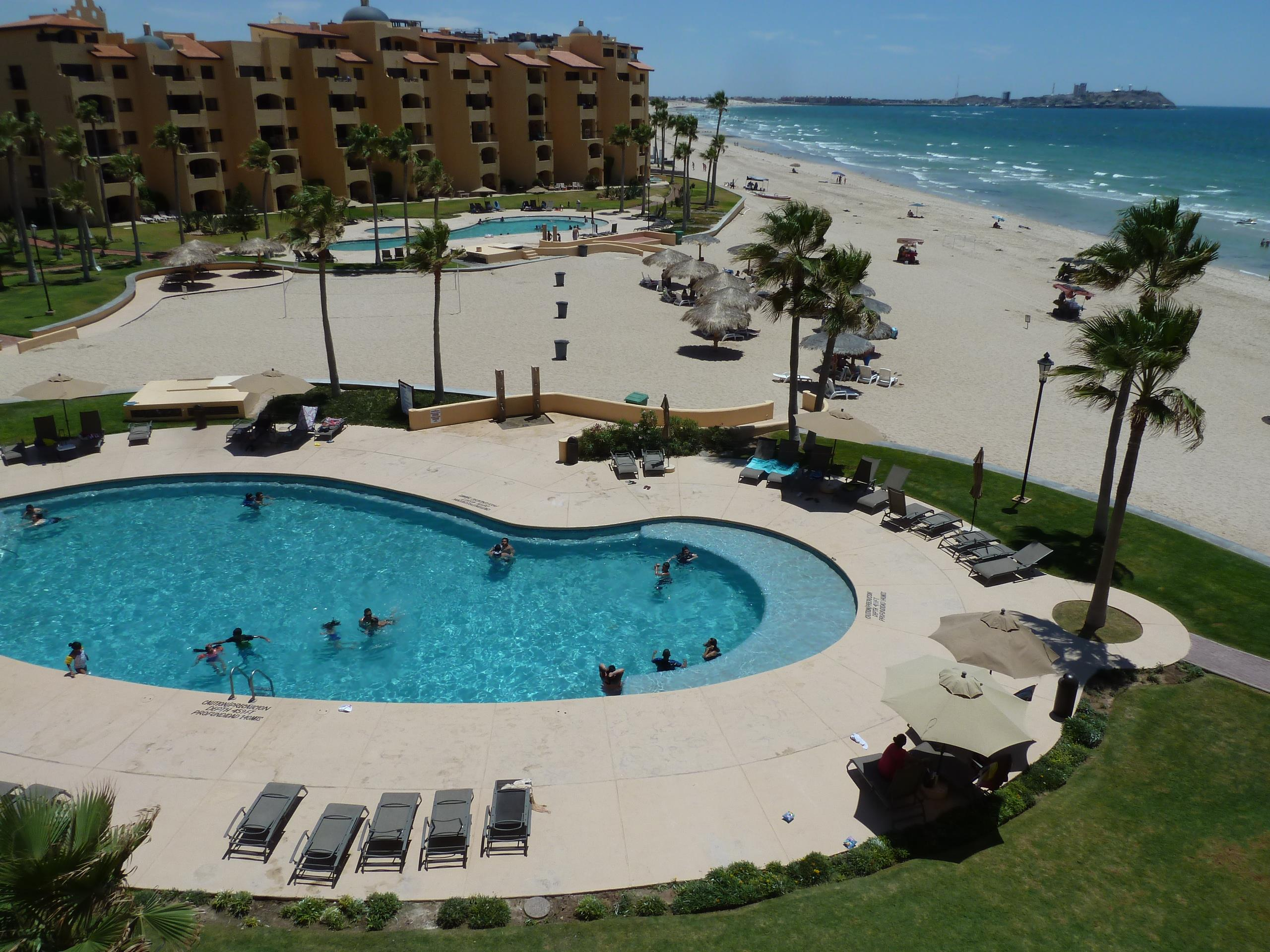 Beautiful 2 Bedroom 2 Bath Oceanfront Condo with Old Port Views