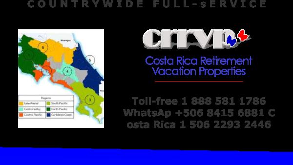 CENTRL PAC IFIC  costa rica real Estate C.R.R.V.P.
