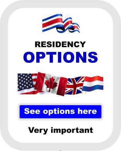 Costa Rica residency options