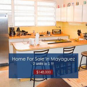 Home For Sale in Mayaguez