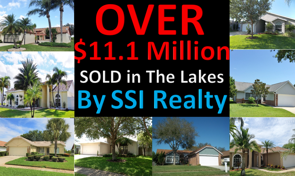 Over $111.170 Million Sold in Real Estate in The Lakes Clearwater Florida