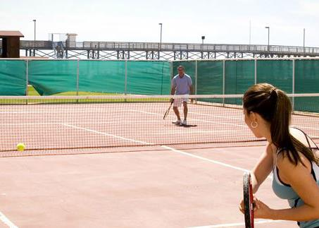 ROSARITO BEACH HOTEL TENNIS COURT