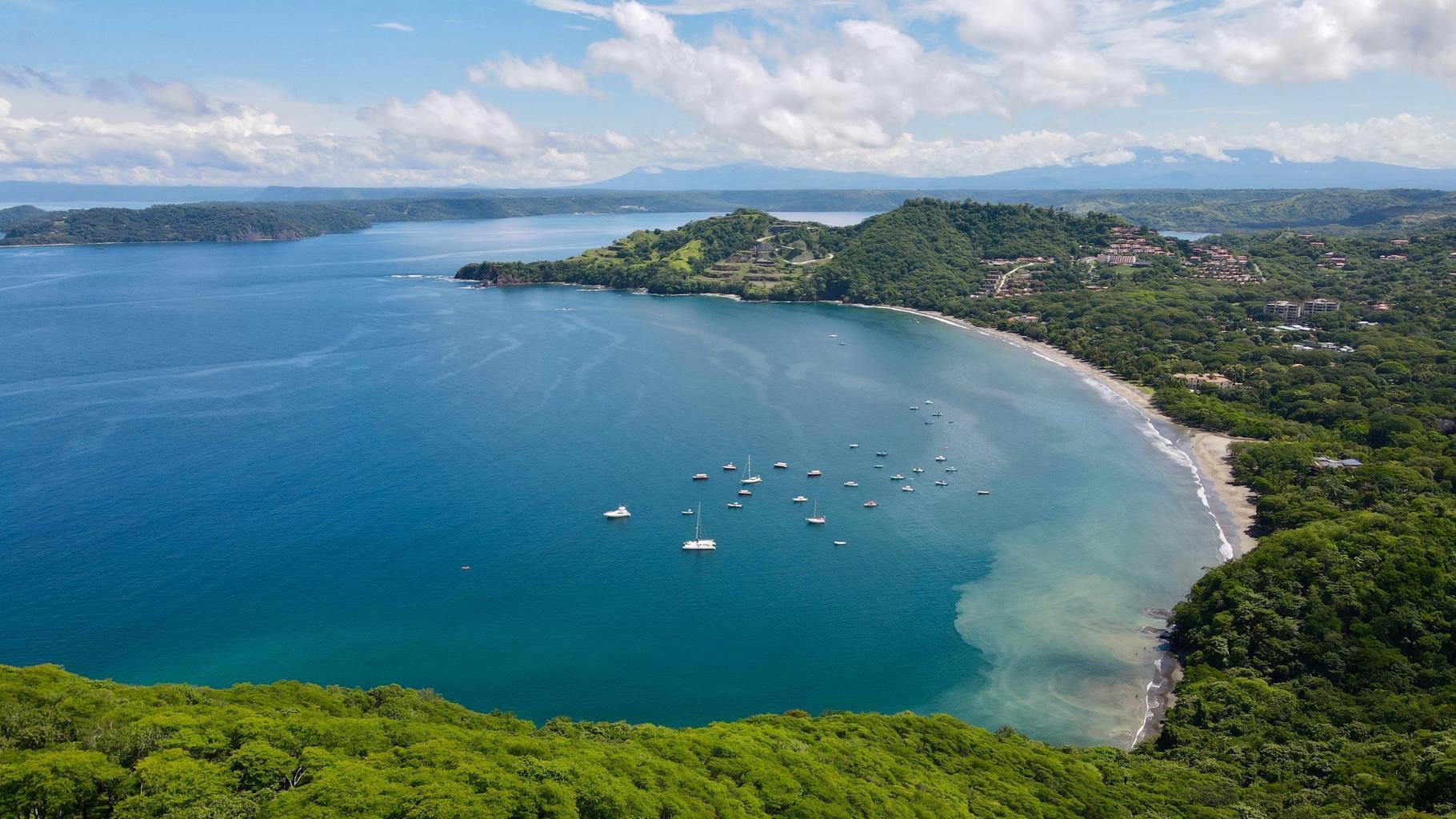 Drone shot of Playa Hermosa