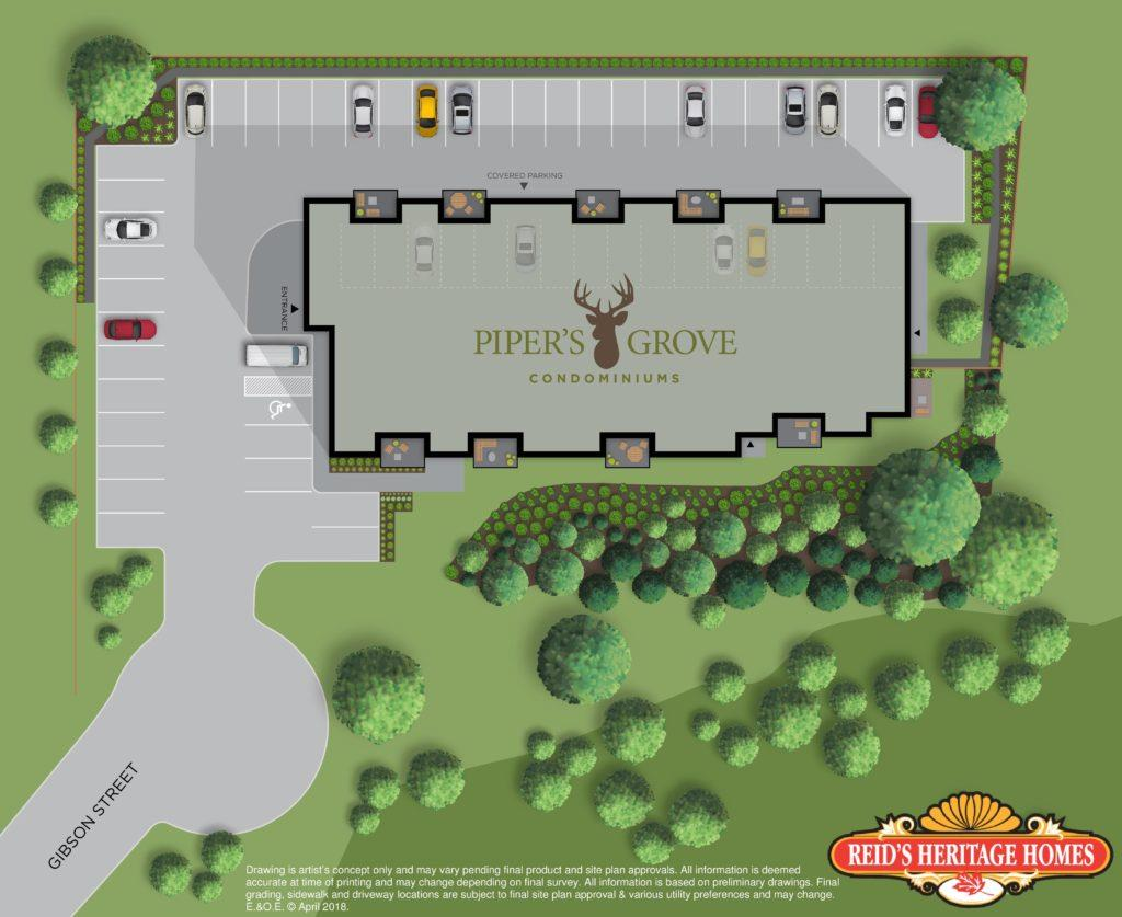 Pipers Grove Floor Plans