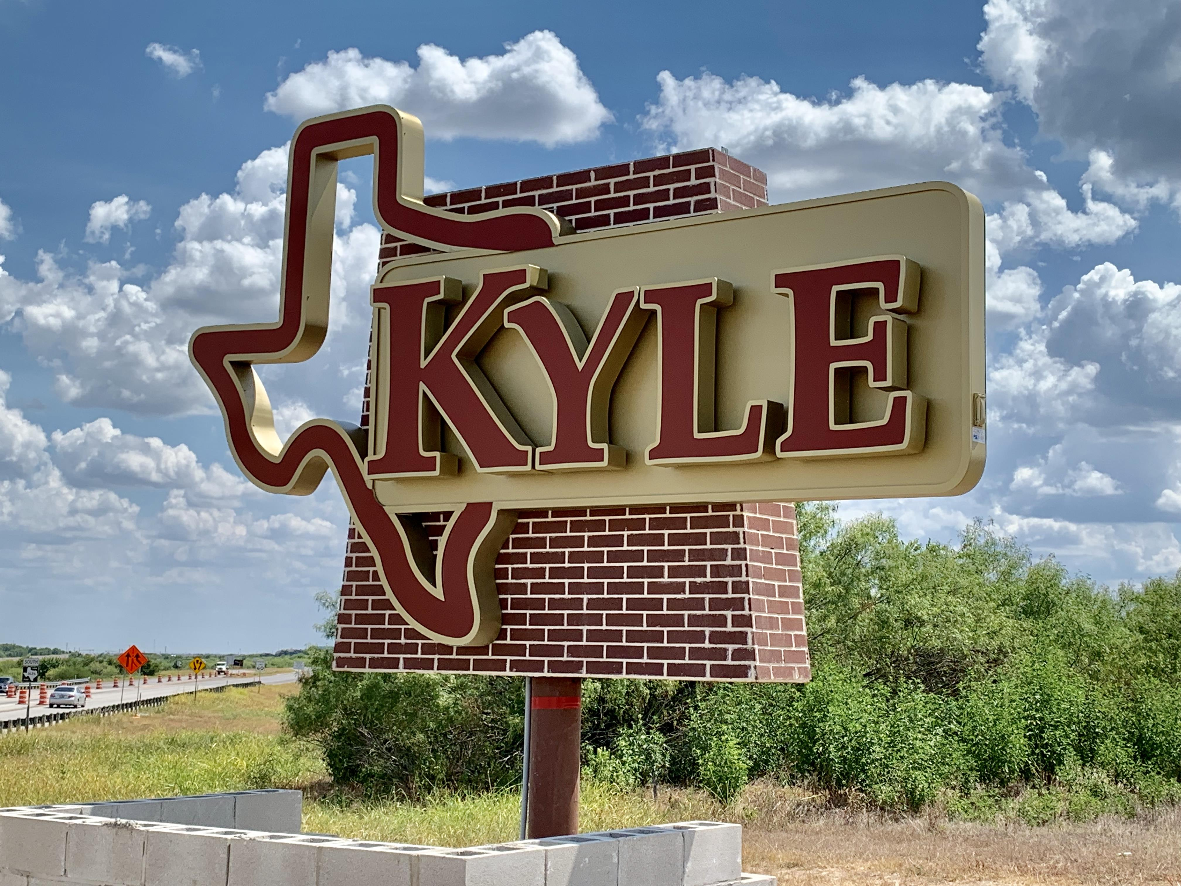 Kyle City Sign
