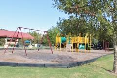 A view of the Bunton Creek Village play area.