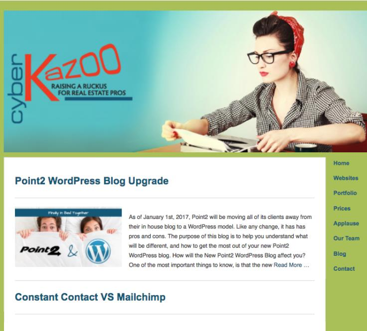 Cyber Kazoo Blog Portfolio 01