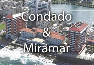 Properties in Condado and Miramar