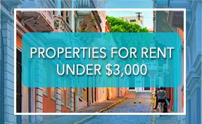 Rentals Under 3000