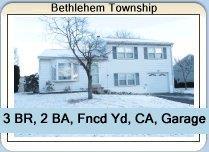Home for Sale in Bethlehem Township