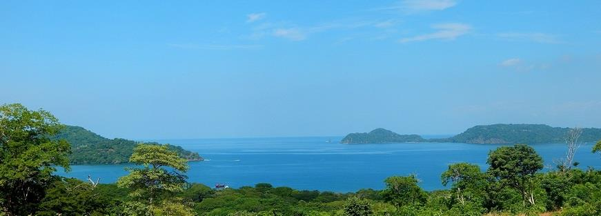 Ocean view from Hacienda del Mar residential community in Costa Rica