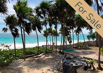 Beachfront Lot for sale in Tulum Hotel Zone