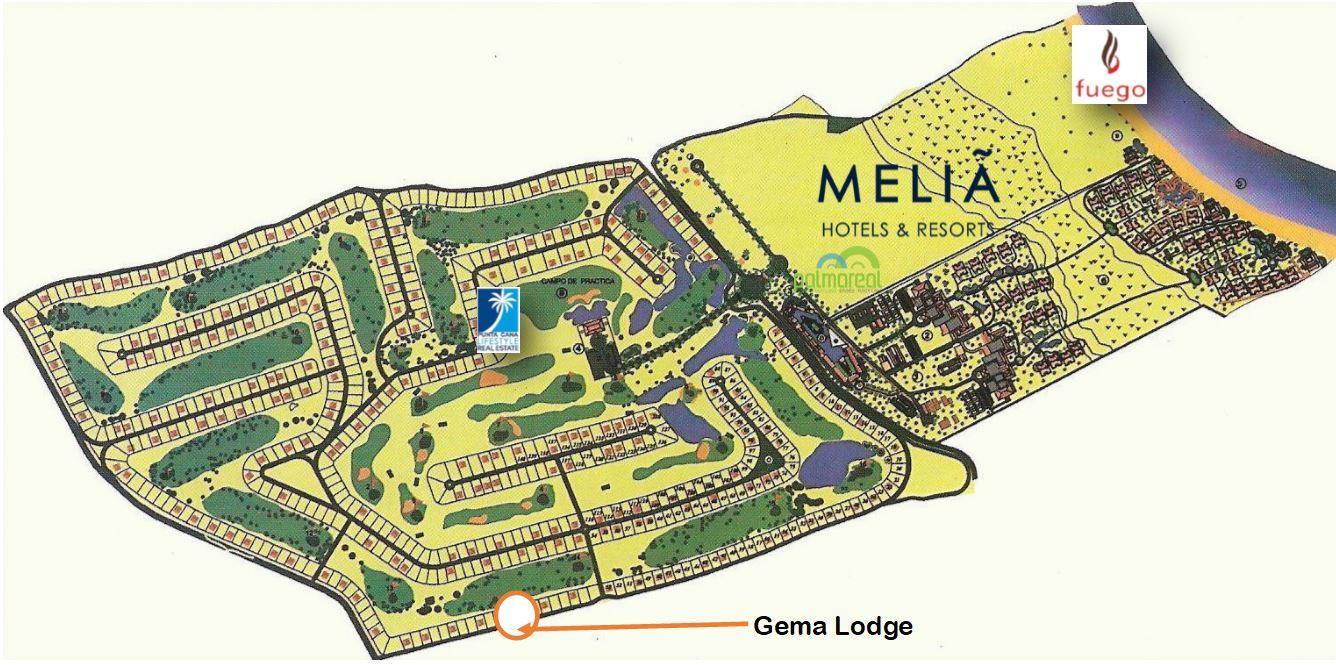 Gema Lodge location site map